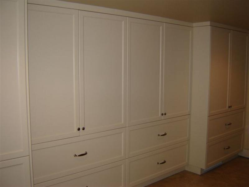 built-in custom cabinets